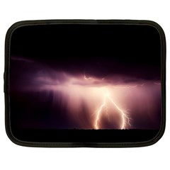 Storm Weather Lightning Bolt Netbook Case (xxl)