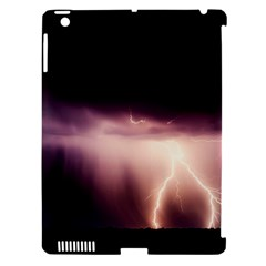 Storm Weather Lightning Bolt Apple Ipad 3/4 Hardshell Case (compatible With Smart Cover)