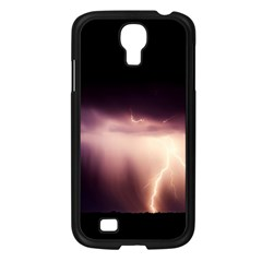 Storm Weather Lightning Bolt Samsung Galaxy S4 I9500/ I9505 Case (black)