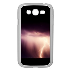 Storm Weather Lightning Bolt Samsung Galaxy Grand Duos I9082 Case (white)