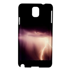Storm Weather Lightning Bolt Samsung Galaxy Note 3 N9005 Hardshell Case