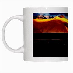 India Sunset Sky Clouds Mountains White Mugs