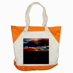 India Sunset Sky Clouds Mountains Accent Tote Bag