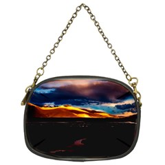 India Sunset Sky Clouds Mountains Chain Purses (two Sides)