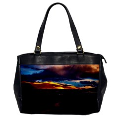 India Sunset Sky Clouds Mountains Office Handbags
