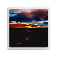 India Sunset Sky Clouds Mountains Memory Card Reader (square)