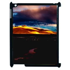 India Sunset Sky Clouds Mountains Apple Ipad 2 Case (black)