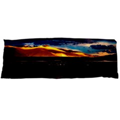 India Sunset Sky Clouds Mountains Body Pillow Case (dakimakura)
