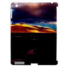 India Sunset Sky Clouds Mountains Apple Ipad 3/4 Hardshell Case (compatible With Smart Cover)