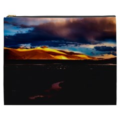 India Sunset Sky Clouds Mountains Cosmetic Bag (xxxl)