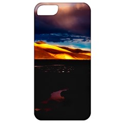 India Sunset Sky Clouds Mountains Apple Iphone 5 Classic Hardshell Case