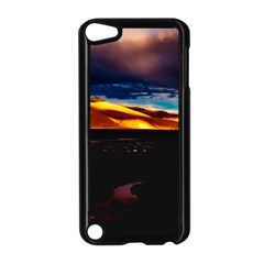 India Sunset Sky Clouds Mountains Apple Ipod Touch 5 Case (black)