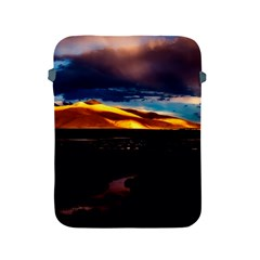India Sunset Sky Clouds Mountains Apple Ipad 2/3/4 Protective Soft Cases