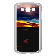 India Sunset Sky Clouds Mountains Samsung Galaxy Grand Duos I9082 Case (white)