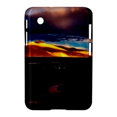India Sunset Sky Clouds Mountains Samsung Galaxy Tab 2 (7 ) P3100 Hardshell Case
