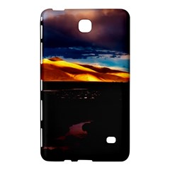 India Sunset Sky Clouds Mountains Samsung Galaxy Tab 4 (7 ) Hardshell Case