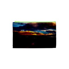 India Sunset Sky Clouds Mountains Cosmetic Bag (xs)