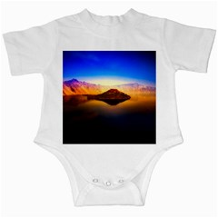 Crater Lake Oregon Mountains Infant Creepers