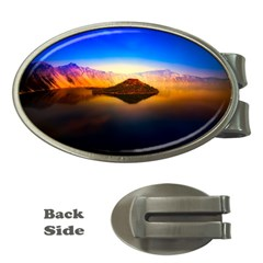 Crater Lake Oregon Mountains Money Clips (oval)