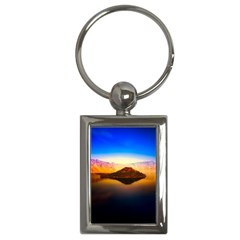 Crater Lake Oregon Mountains Key Chains (rectangle)