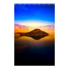 Crater Lake Oregon Mountains Shower Curtain 48  X 72  (small)