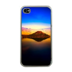 Crater Lake Oregon Mountains Apple Iphone 4 Case (clear)
