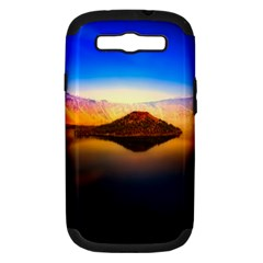 Crater Lake Oregon Mountains Samsung Galaxy S Iii Hardshell Case (pc+silicone)