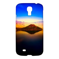 Crater Lake Oregon Mountains Samsung Galaxy S4 I9500/i9505 Hardshell Case
