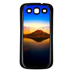 Crater Lake Oregon Mountains Samsung Galaxy S3 Back Case (black)