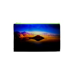 Crater Lake Oregon Mountains Cosmetic Bag (xs)