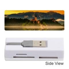 Bled Slovenia Sunrise Fog Mist Memory Card Reader (stick)
