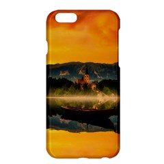 Bled Slovenia Sunrise Fog Mist Apple Iphone 6 Plus/6s Plus Hardshell Case