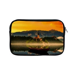Bled Slovenia Sunrise Fog Mist Apple Macbook Pro 13  Zipper Case