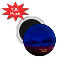 Canada Lake Night Evening Stars 1 75  Magnets (100 Pack)