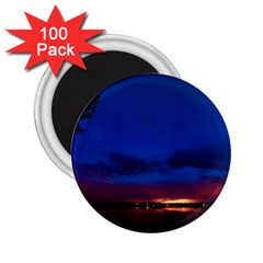 Canada Lake Night Evening Stars 2 25  Magnets (100 Pack)