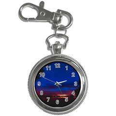 Canada Lake Night Evening Stars Key Chain Watches