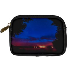 Canada Lake Night Evening Stars Digital Camera Cases