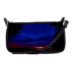 Canada Lake Night Evening Stars Shoulder Clutch Bags