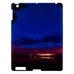 Canada Lake Night Evening Stars Apple Ipad 3/4 Hardshell Case