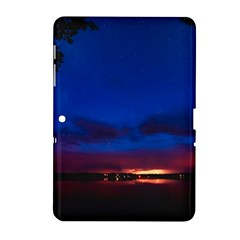 Canada Lake Night Evening Stars Samsung Galaxy Tab 2 (10 1 ) P5100 Hardshell Case