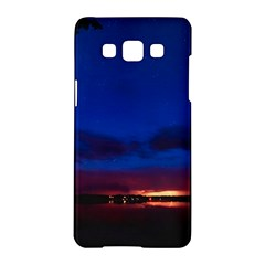 Canada Lake Night Evening Stars Samsung Galaxy A5 Hardshell Case
