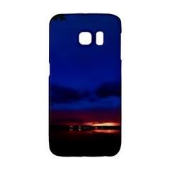 Canada Lake Night Evening Stars Galaxy S6 Edge