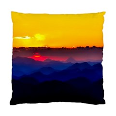 Austria Landscape Sky Clouds Standard Cushion Case (two Sides)