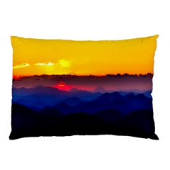 Austria Landscape Sky Clouds Pillow Case