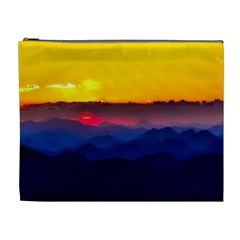 Austria Landscape Sky Clouds Cosmetic Bag (xl)
