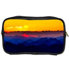 Austria Landscape Sky Clouds Toiletries Bags