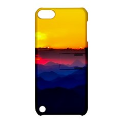 Austria Landscape Sky Clouds Apple Ipod Touch 5 Hardshell Case With Stand