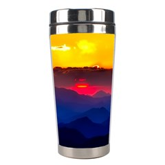 Austria Landscape Sky Clouds Stainless Steel Travel Tumblers