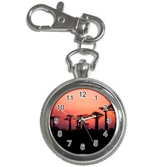 Baobabs Trees Silhouette Landscape Key Chain Watches
