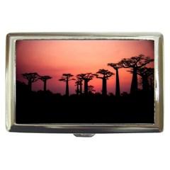 Baobabs Trees Silhouette Landscape Cigarette Money Cases